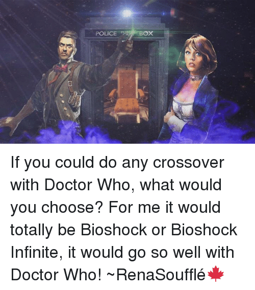 police box if you could do any crossover with doctor who what would you choose for me it would. Black Bedroom Furniture Sets. Home Design Ideas