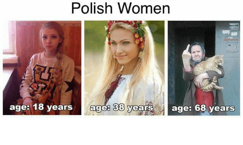polishing: Polish Women  age: 18 years ages 38 yearsage: 68 years