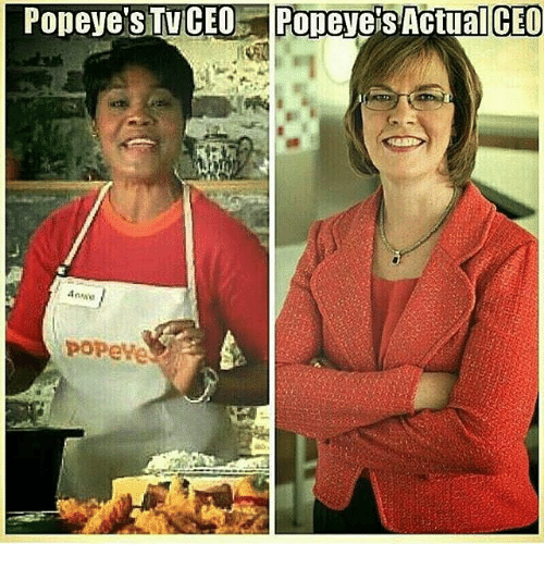 Memes, Popeyes, and 🤖: Popeye's TVCEO PopevetsActuallCEO