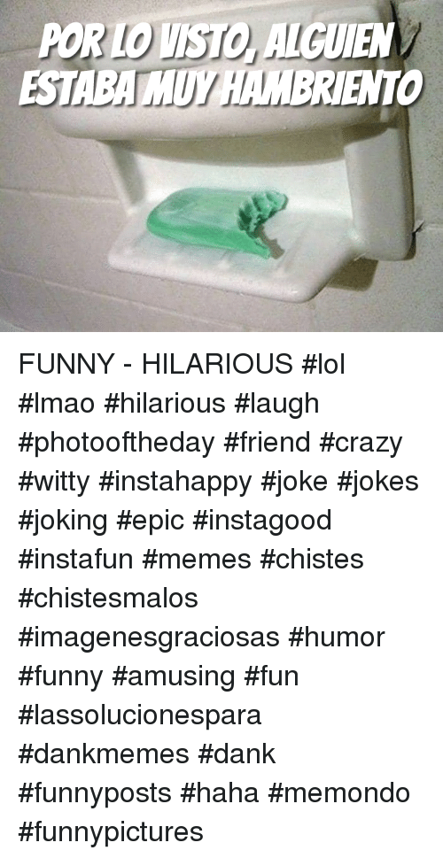 Crazy, Dank, and Funny: POR LO VISTO, ALGUIEN  ESTABA MUY HAMBRIENTO FUNNY - HILARIOUS  #lol #lmao #hilarious #laugh #photooftheday #friend #crazy #witty #instahappy #joke #jokes #joking #epic #instagood #instafun  #memes #chistes #chistesmalos #imagenesgraciosas #humor #funny  #amusing #fun #lassolucionespara #dankmemes  #dank  #funnyposts #haha #memondo #funnypictures