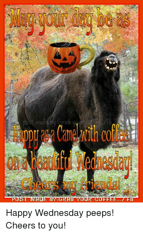 Post Mades: POST MADE GRAR TOUR COFFEE... FE Happy Wednesday peeps! Cheers to you!