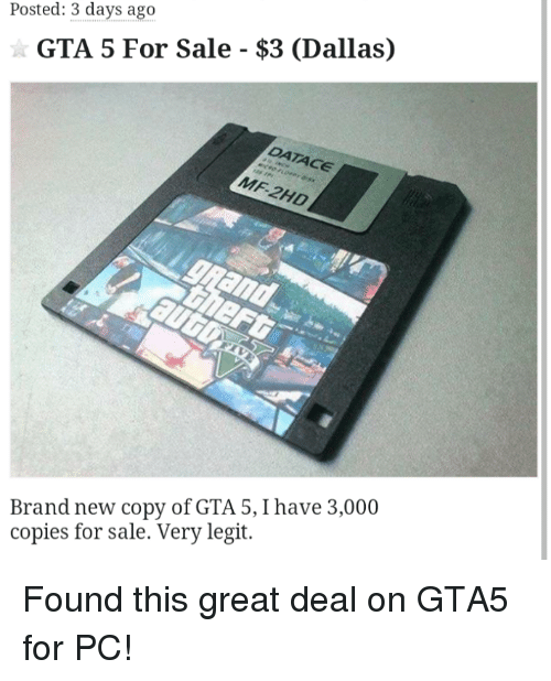 Posted 3 days ago gta 5 for sale 3 dallas ace brand new for Fenetre sale gta 5