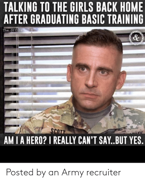 Army Recruiter: Posted by an Army recruiter