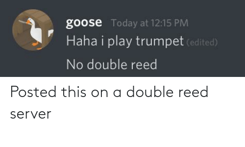 Reed: Posted this on a double reed server