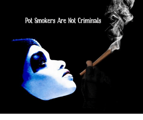 Criminations: Pot Smokers Are Not Criminals