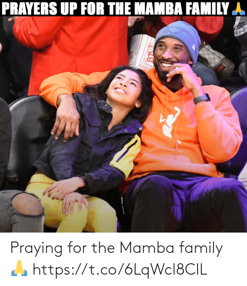 mamba: Praying for the Mamba family 🙏 https://t.co/6LqWcl8CIL