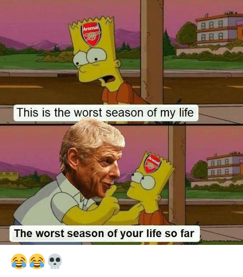 Life, Memes, and The Worst: PRB  This is the worst season of my life  ARR  The worst season of your life so far 😂😂💀