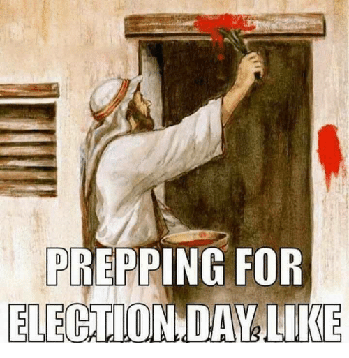 memes: PREPPING FOR  ELECTION DAY LIKE