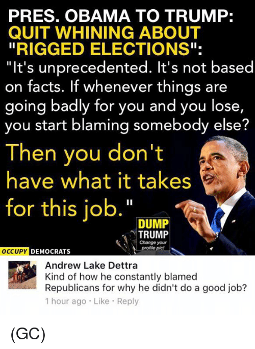 Trump Blames Fbi Russia And Democrats For Fake 35 Page: 25+ Best Memes About Obama, Bad, And Memes