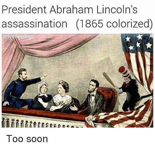account of the assassination of president abraham lincoln When abraham lincoln was elected president in 1860, seven slave states left the union to form the confederate states of america, and four more joined when hostilities began between the north and.