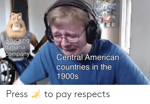 Pay: Press 🍌 to pay respects