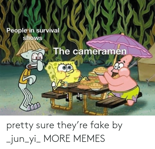 fake: pretty sure they're fake by _jun_yi_ MORE MEMES