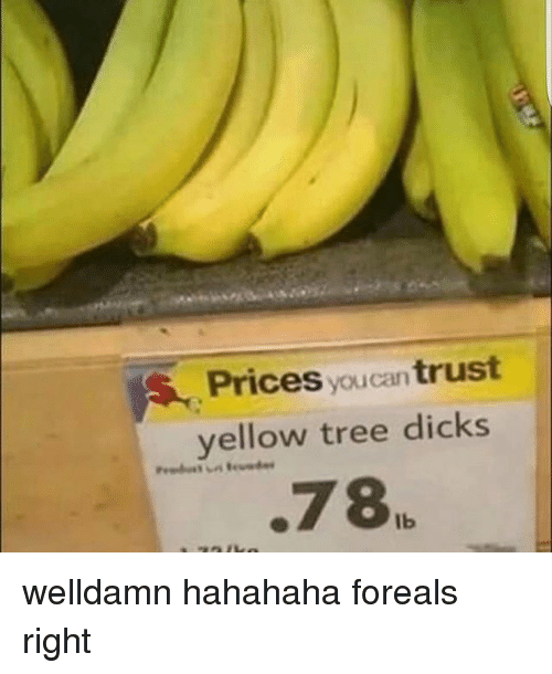 Dicks, Memes, and Tree: Prices  you trust  yellow tree dicks  .78IL welldamn hahahaha foreals right