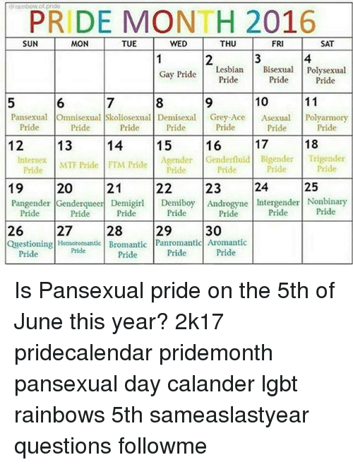 from Giovanni free gay pride calander