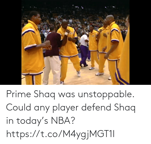NBA: Prime Shaq was unstoppable. Could any player defend Shaq in today's NBA?  https://t.co/M4ygjMGT1I