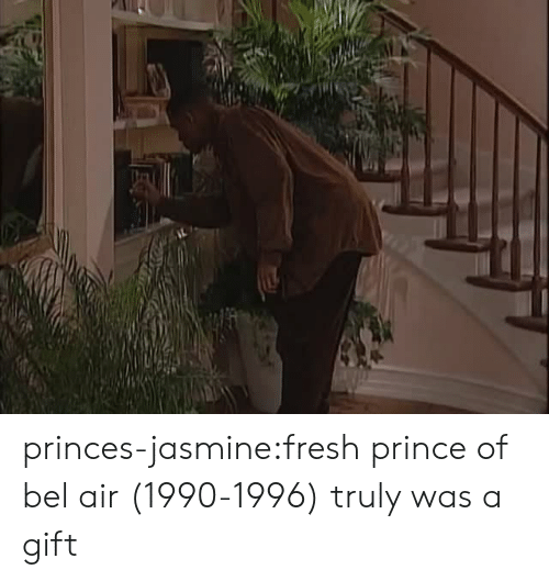 Fresh Prince of Bel-Air: princes-jasmine:fresh prince of bel air (1990-1996) truly was a gift