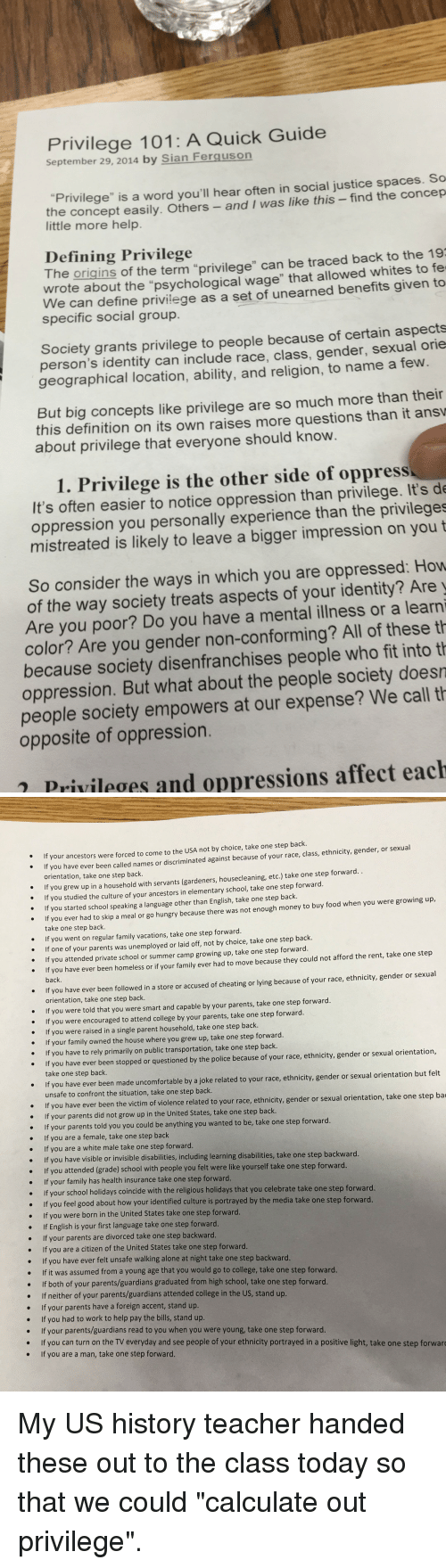 a description of race gender ability ethnicity class and sexuality matter How gender and race affect education today  a comprehensive report that gives a clearer picture of how race and ethnicity affects the way students learn and are treated in all levels of.