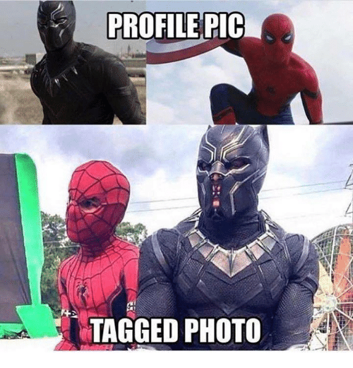 Memes, Tagged, and 🤖: PROFILE PIC  TAGGED PHOTO