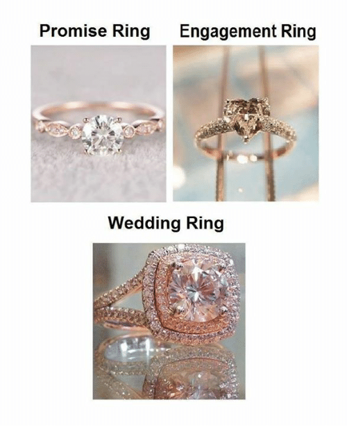 promise ring engagement ring and wedding ring set promise ring engagement ring wedding ring meme on sizzle 6829