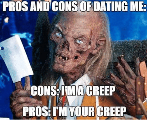 Funny pros and cons of dating me