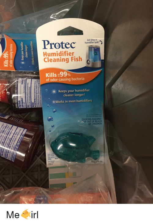 Protec humidifier tank humidifier cleaning fish kills99 for Humidifier cleaning fish