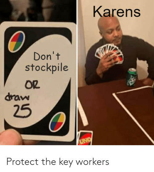 the key: Protect the key workers