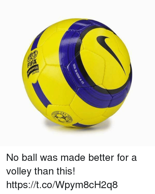 Soccer, Volley, and Ball: PROVED  253 W2E No ball was made better for a volley than this! https://t.co/Wpym8cH2q8