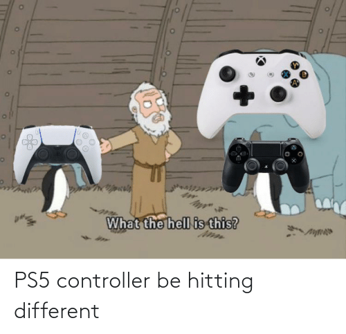 hitting: PS5 controller be hitting different