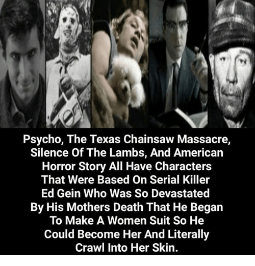 a review of the films psycho the texas chainsaw massacre and the silence of the lambs Inspired -- like the original texas chainsaw massacre, psycho, the silence of the lambs, and deranged -- by the crimes of wisconsin multiple murderer ed gein, this remake of the texas chainsaw.