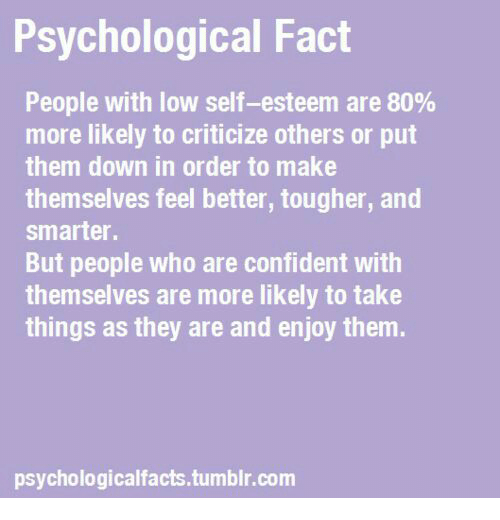 how to help someone with low self confidence