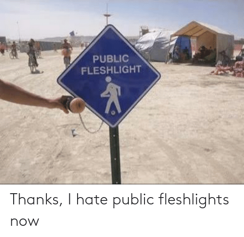 fleshlights: PUBLIC  FLESHLIGHT Thanks, I hate public fleshlights now