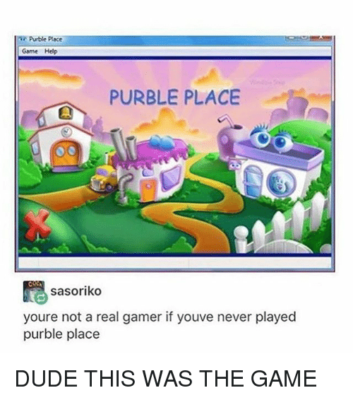 Dude, The Game, and Tumblr: Purble place  Game Help  PURBLE PLACE  sasoriko  youre not a real gamer if youve never played  purble place DUDE THIS WAS THE GAME
