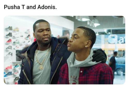 adonis: Pusha T and Adonis  ALL