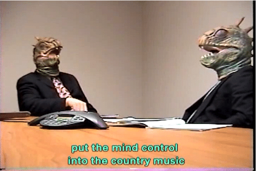 mind control: put the mind control  into the country music