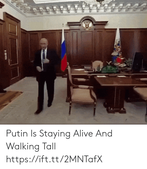 staying alive: Putin Is Staying Alive And Walking Tall https://ift.tt/2MNTafX