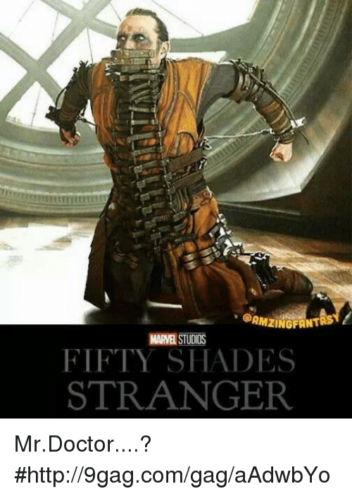 fifties: QAMZINGFANT  MARE STUDIOS  FIFTY SHADES  STRANGER Mr.Doctor....?  #http://9gag.com/gag/aAdwbYo