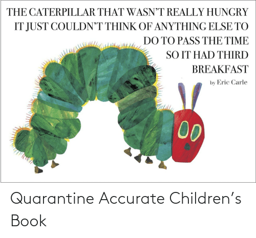 accurate: Quarantine Accurate Children's Book