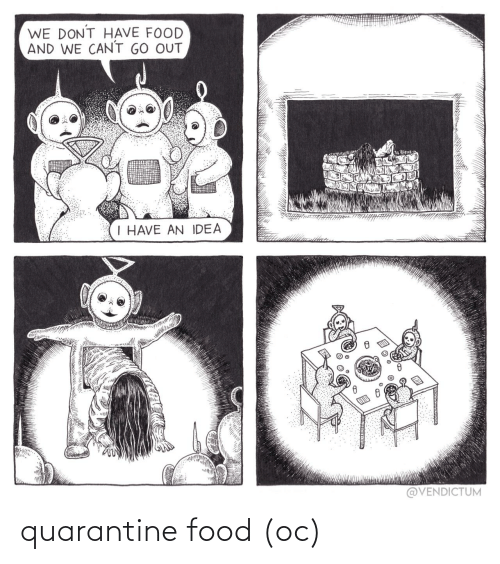 Food: quarantine food (oc)