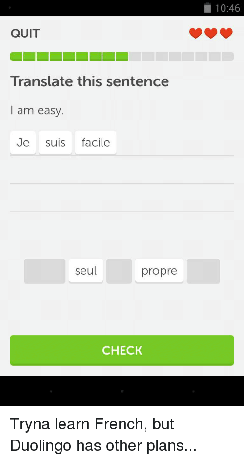 Who can translate this to French?