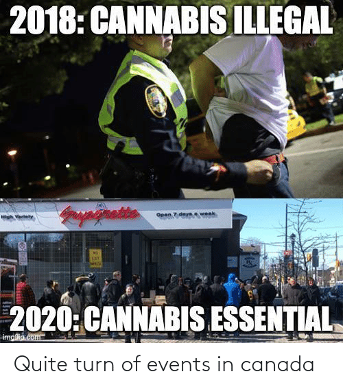 Canada: Quite turn of events in canada