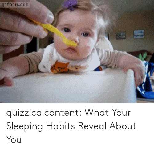 Sleeping: quizzicalcontent:    What Your Sleeping Habits Reveal About You