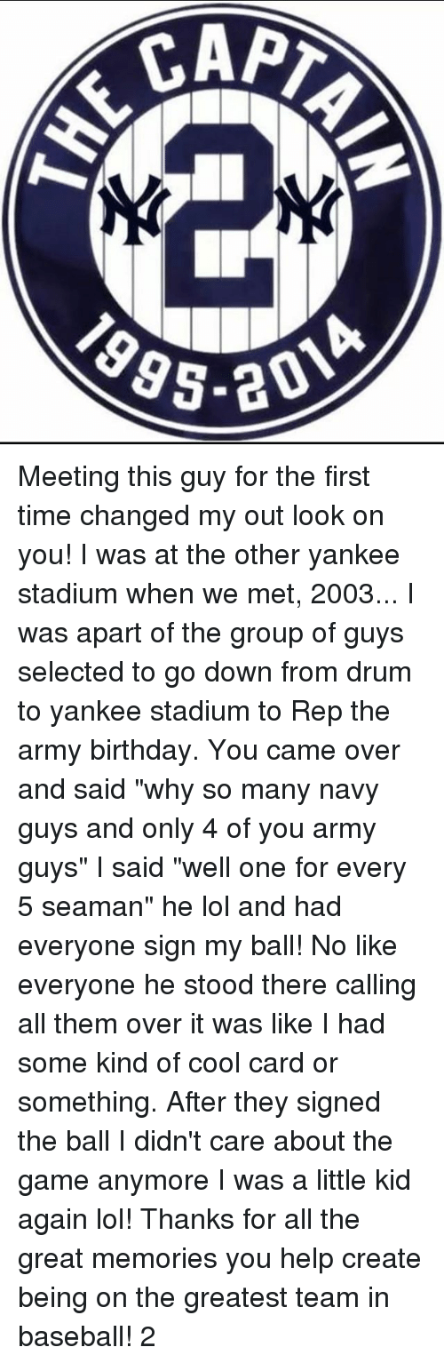 meeting a guy for the first time