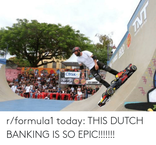 Banking: r/formula1 today: THIS DUTCH BANKING IS SO EPIC!!!!!!!