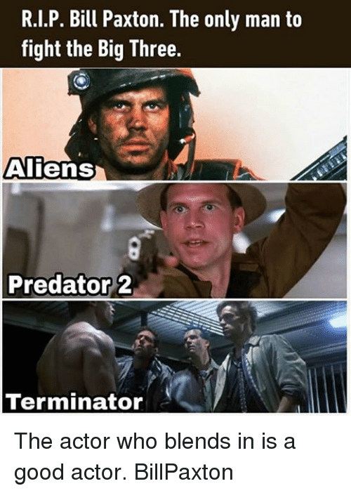 25+ Best Memes About Bill Paxton