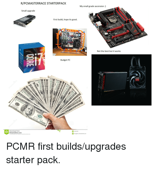rpcmasterrace starterpack my small grade ascension small upgrade