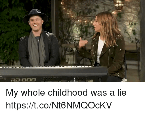 Boo, Funny, and Lie: R13-BOO My whole childhood was a lie https://t.co/Nt6NMQOcKV