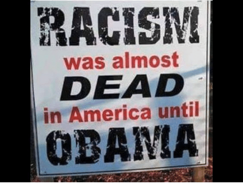 America, Memes, and Racism: RACISM  was almost  DEAD  in America until