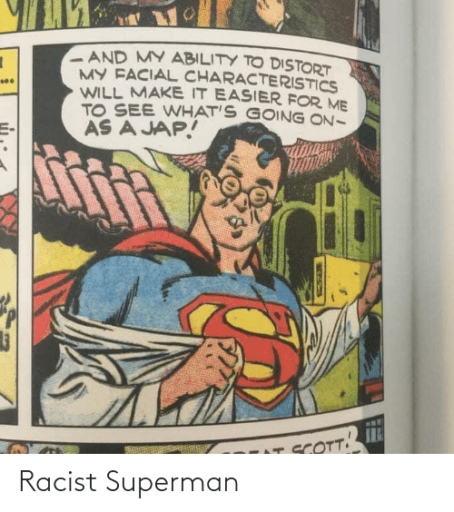Racist: Racist Superman
