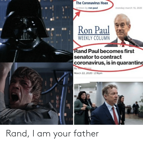 rand: Rand, I am your father