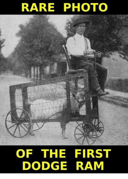 rare photo of the first dodge ram 31045260 🔥 25 best memes about dodge ram dodge ram memes